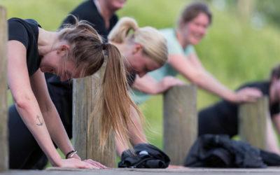 Udendørs træning, motion, øvelser og fitness i Søndermarken, København