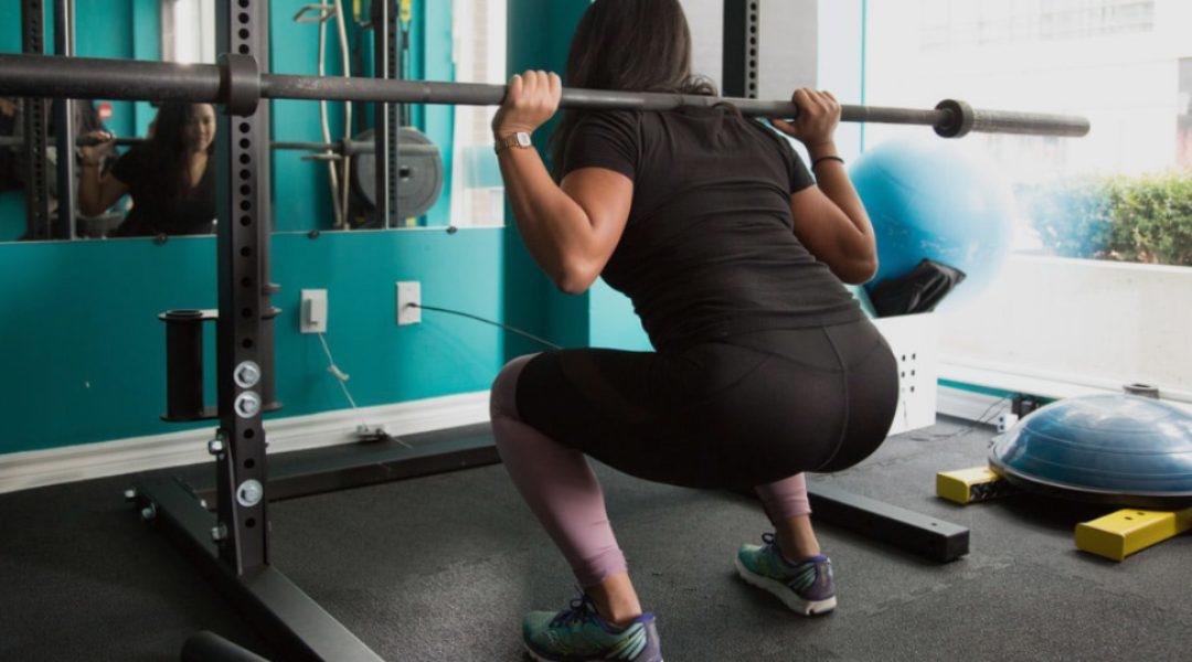 udfør squat korrekt