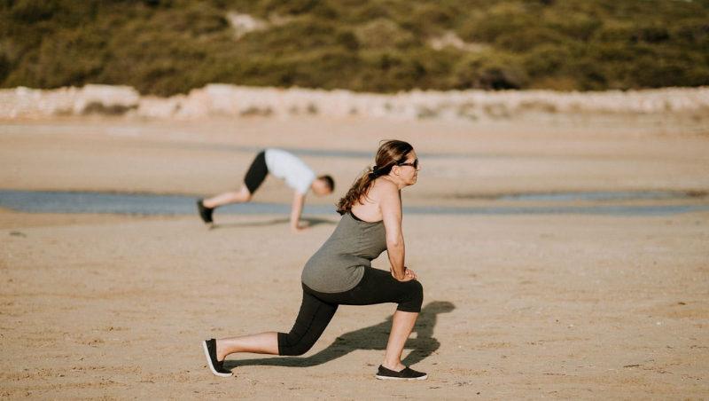 Sådan her, kan dit udendørs træningsprogram se ud
